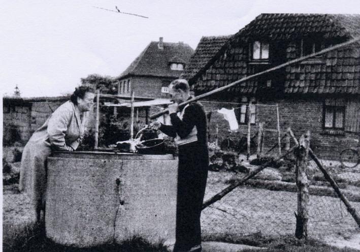 Brunnen - Foto von ca 1950