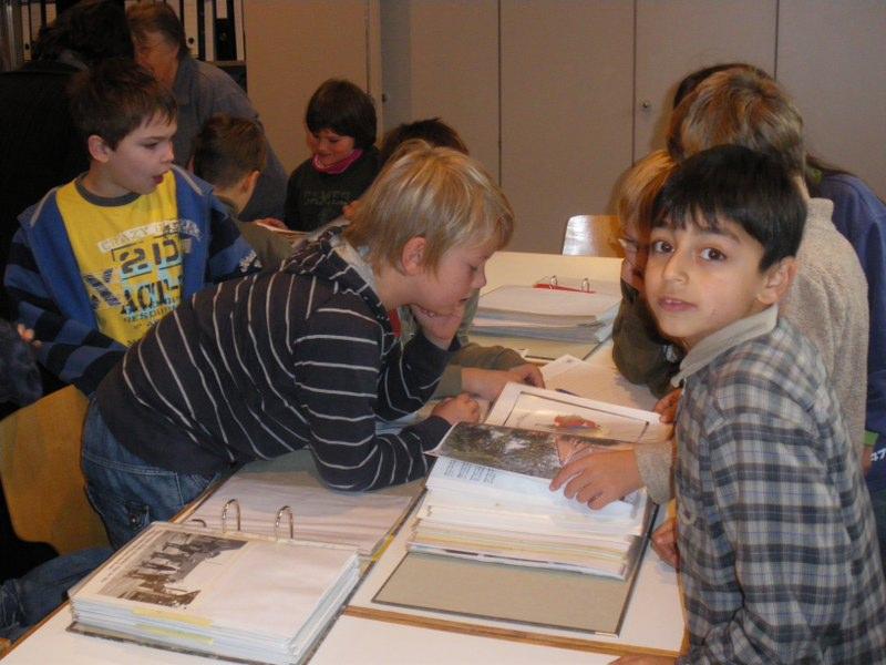 Schule zu besuch 2008